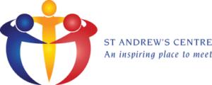 St Andrew's Centre horizontal logo