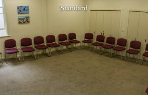 Common room with the standard set up