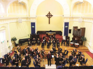 wellington chamber orchestra at St Andrew's