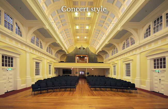 church-concert-style